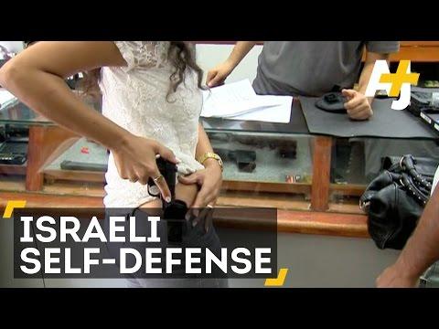 Israelis Take Self-Defense Classes After Knife And Gun Attacks