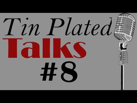 Tin Plated Talks - #8 Comic Book Characters and an American Sex Dildo