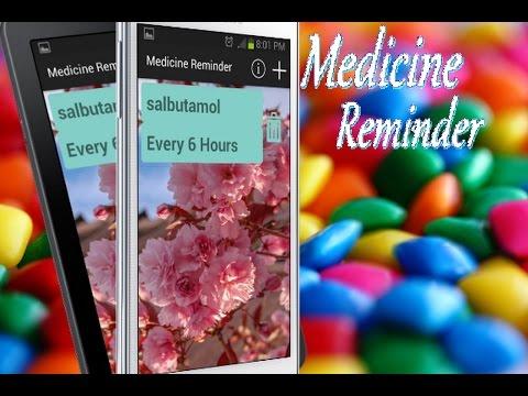 Medicine Reminder [[APP]]