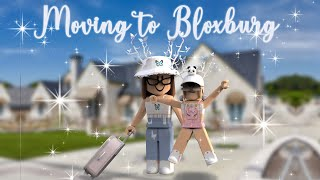 MOVING TO BLOXBURG!!!! *exciting* Roblox roleplay
