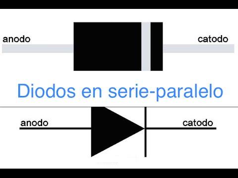 Diodos En Serie Paralelo Iv Youtube