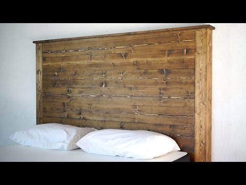How To Make a Headboard | Modern Builds | EP.26