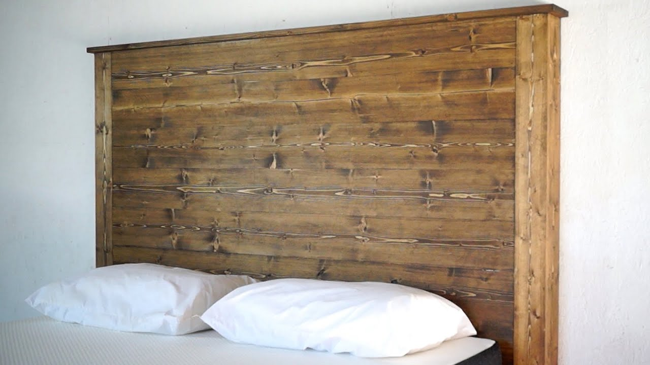 Barnwood Headboard Diy