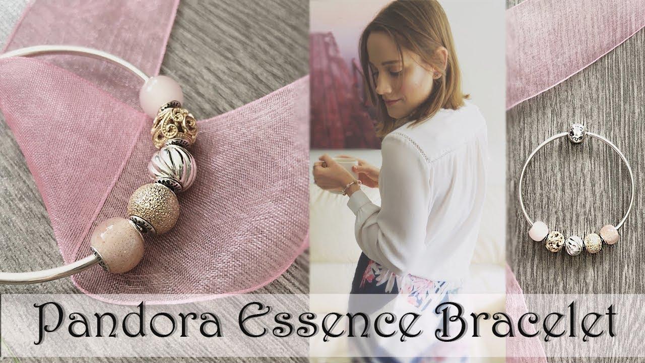 My Pandora Essence Bracelet Pandora Sale Youtube