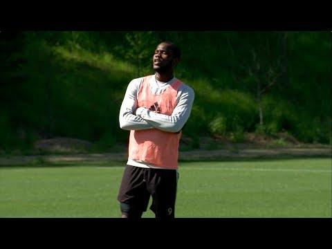 Mic'd Up: Inside Atlanta United training with Romario Williams