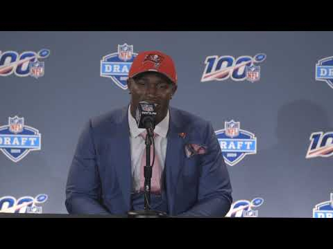 Devin White reacts to going 5th overall to Tampa Bay Buccaneers