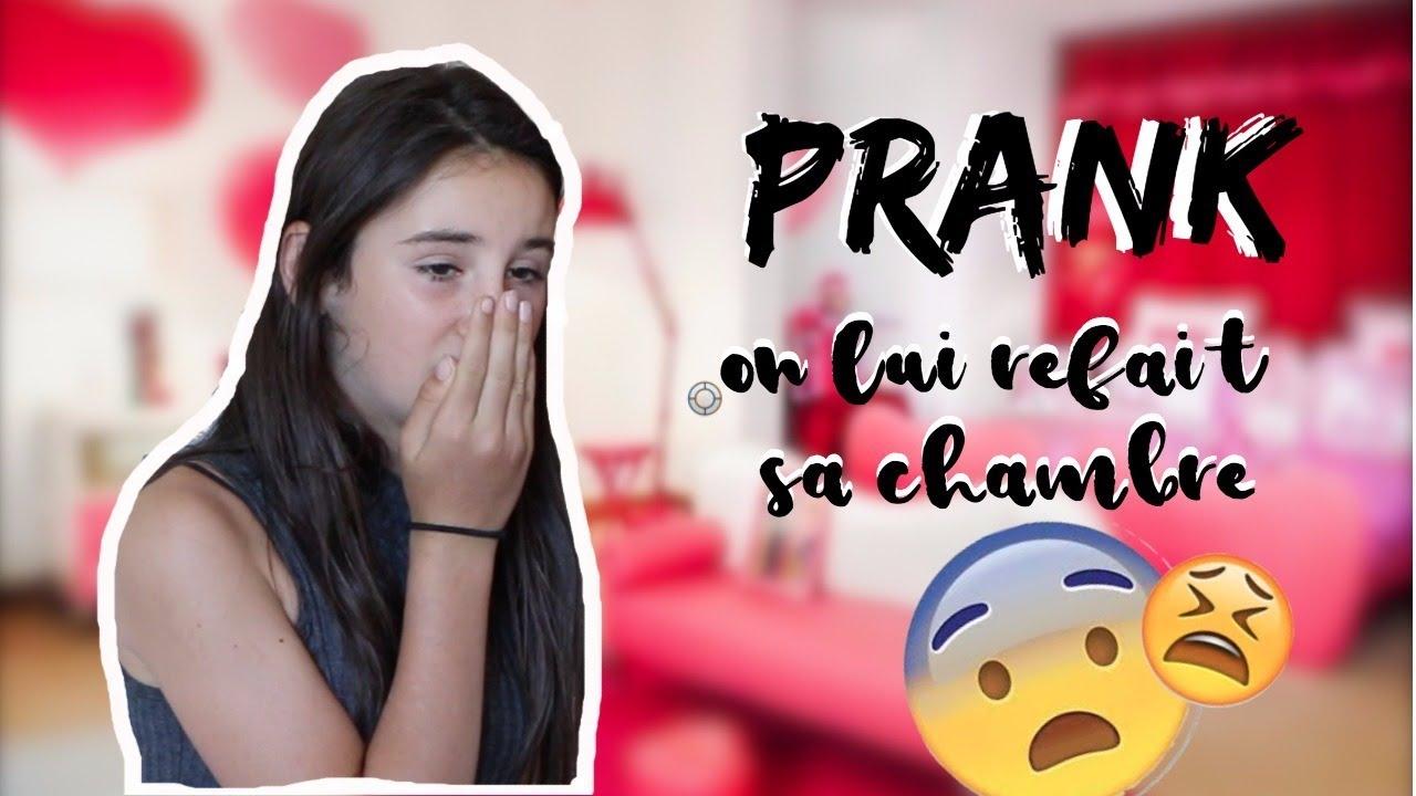 Prank  On Lui Refait Sa Chambre  La Dezdez Family