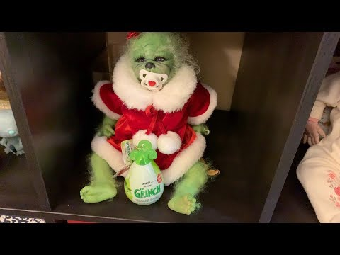 The Grinch Baby got us a prize! Day Fifteen! Advent Calendar Christmas 2018!