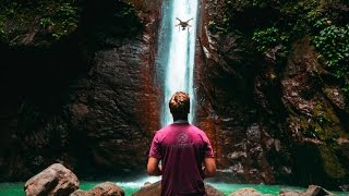 THE BEST DRONE SHOOT (WATERFALLS AND ISLANDS 🌴)
