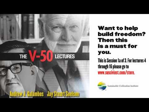 The V-50 Lectures: Session 1a