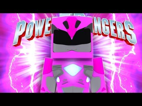 POWER RANGERS -The Series | PINK RANGER FACES HER FEAR! (Custom Mod Adventure)w/LittleKellyandLizard