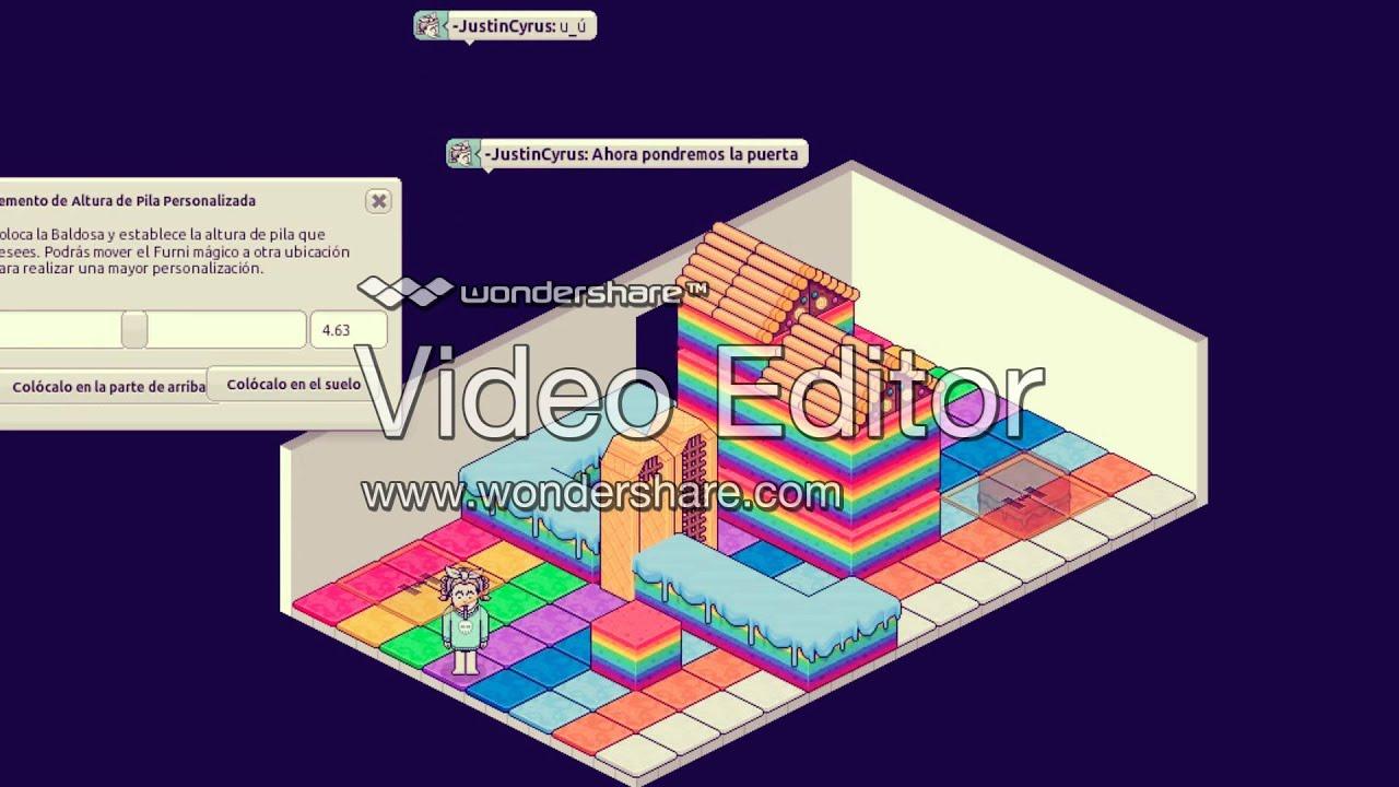Como construir una casa de caramelo en habbo tutorial for Como hacer una casa en habbo