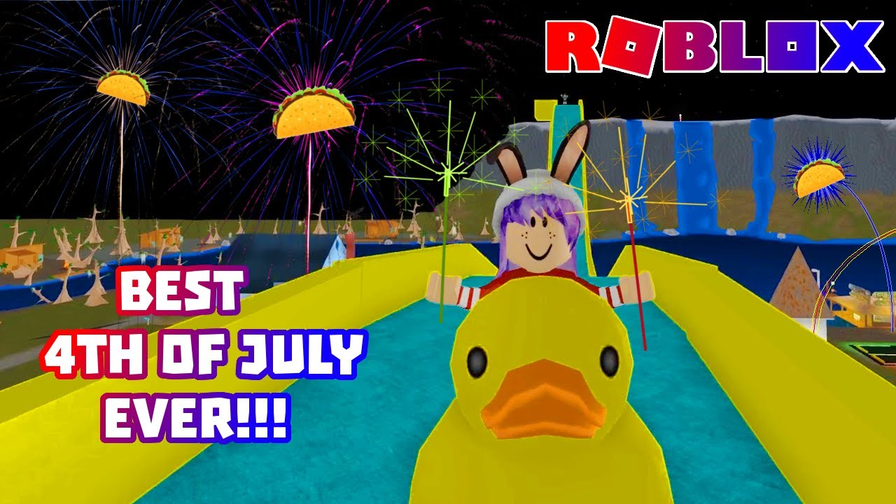 Roblox fireworks show youtube