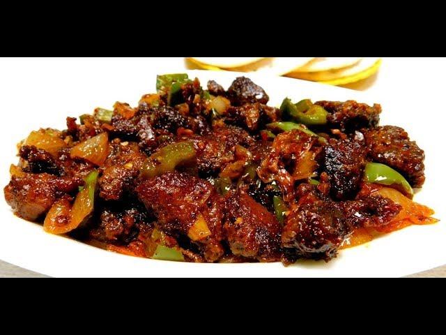 Chilli Pork Recipe Kerala Style Pork Chilli Fry Recipe Youtube