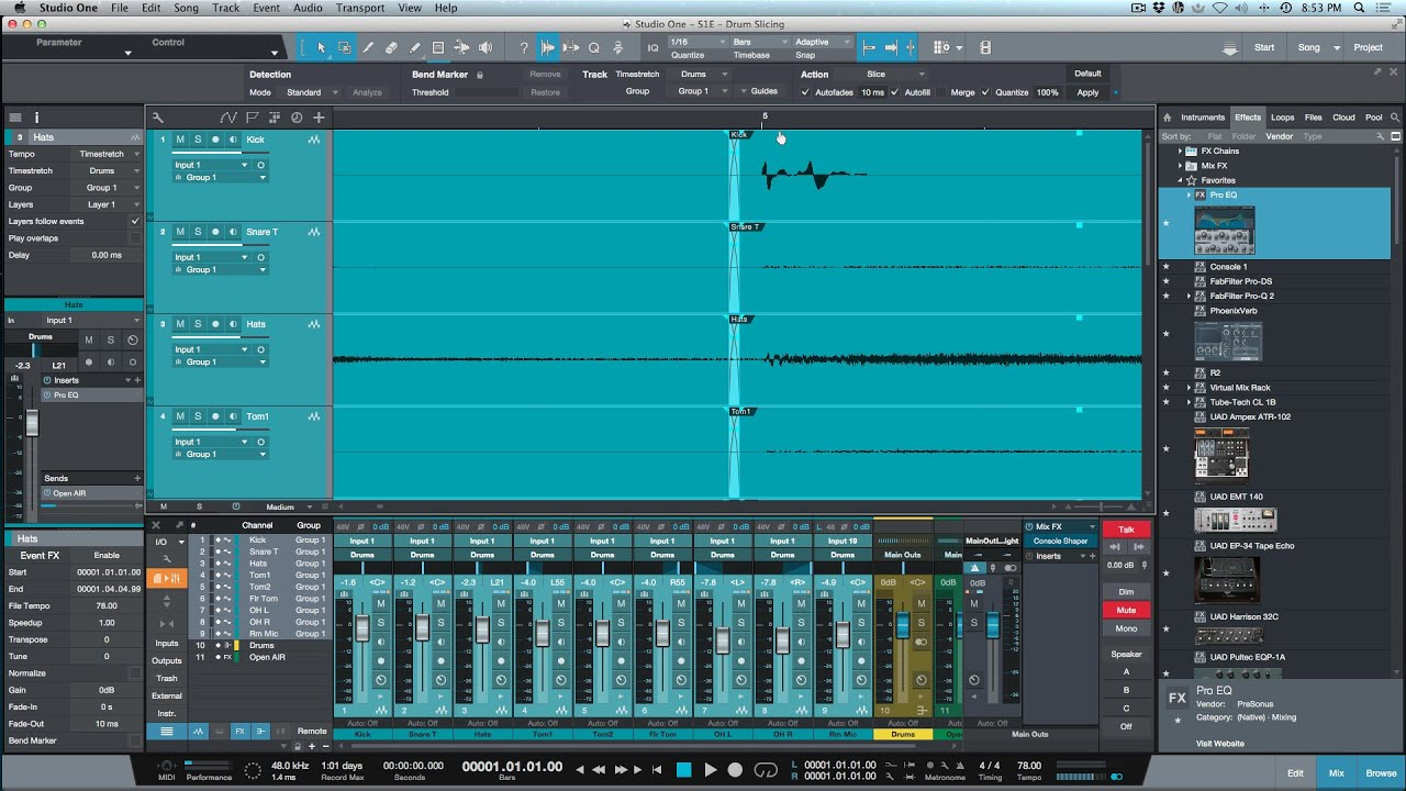 Whats New In PreSonus Studio One 33  YouTube