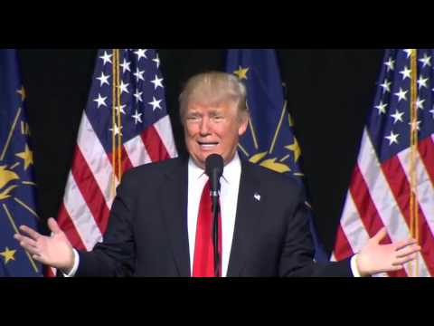 Donald Trump Indianapolis Indiana Rally