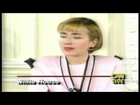 Whitewater Scandal Hillary Clinton Press Conference April 22 1994 part1