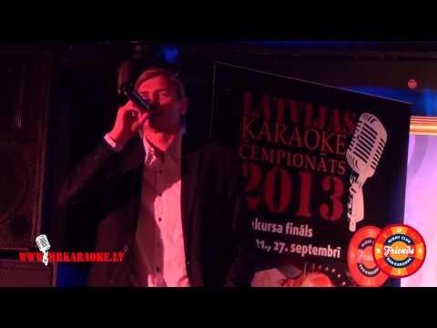 Latvijas karaoke čempionāts 2013 pusfināls. Vilnis (Ķekavas atlase) - Gorod kotorogo net.