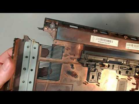 Почему ломается корпус в ноутбуке