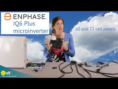 Enphase IQ6 Plus solar microinverter overview