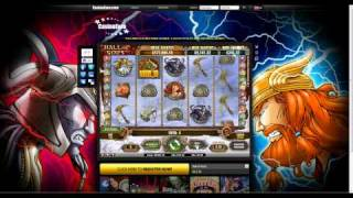 hall of gods casino slot machine with 20 free spins three jackpots and bonus game