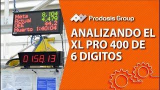 Analizando XL Pro 400 de 6 digitos