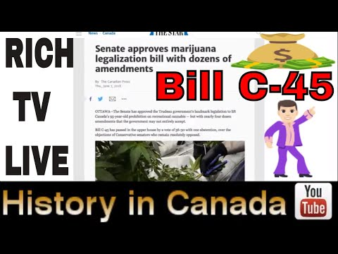 Breaking News Bill C-45 Approved 56-30 Historic Cannabis Legalization Bill With Dozens Of Amendments