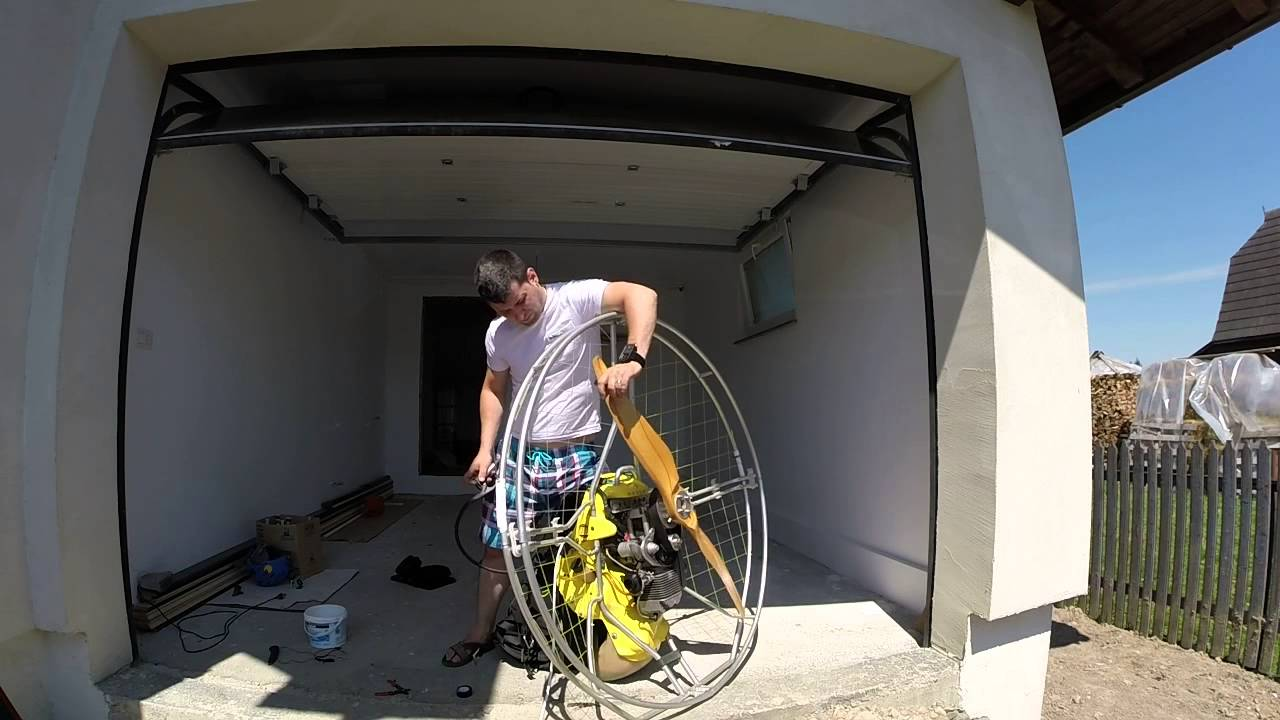 Adventure F3 Paramotor Test after cleaning and changing all the gaskets in  carburetor