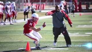 Coach Williams /// Nebraska Wideouts
