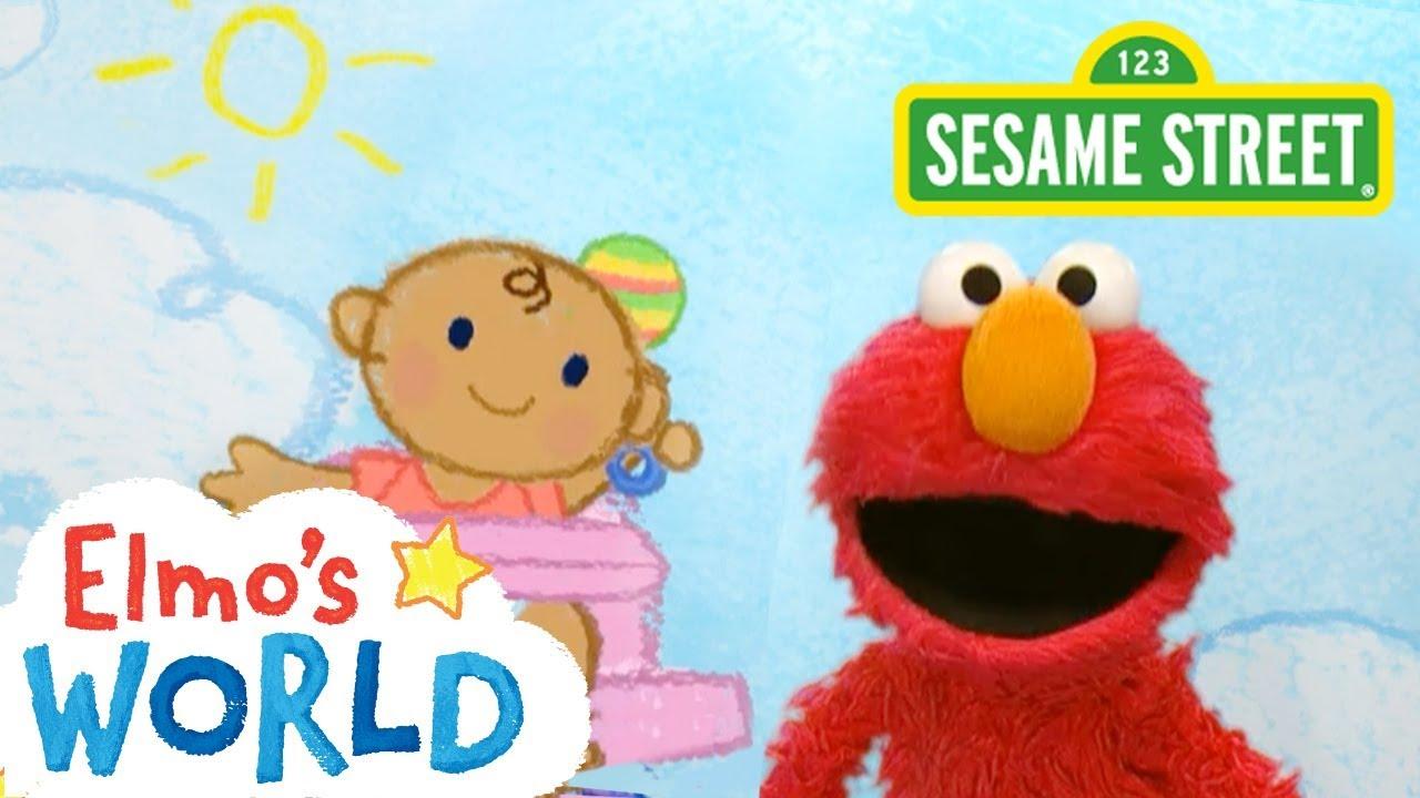 d5d5977554 Sesame Street: Babies | Elmo's World - YouTube