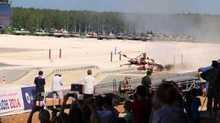 Т-72Б3М обгон Тип-96А, Танковый Биатлон-2014 / T-72B3M overtakes Type 96A, Tank Bithlon-2014