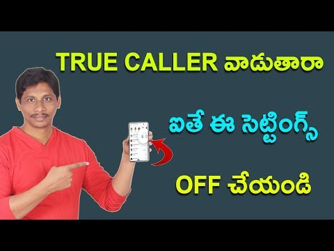Useless True caller settings you Must off || Telugu Tech Tuts