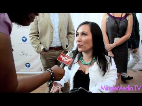 Meredith Eaton at the 17th Annual Angel Awards Red Carpet @MerEaton