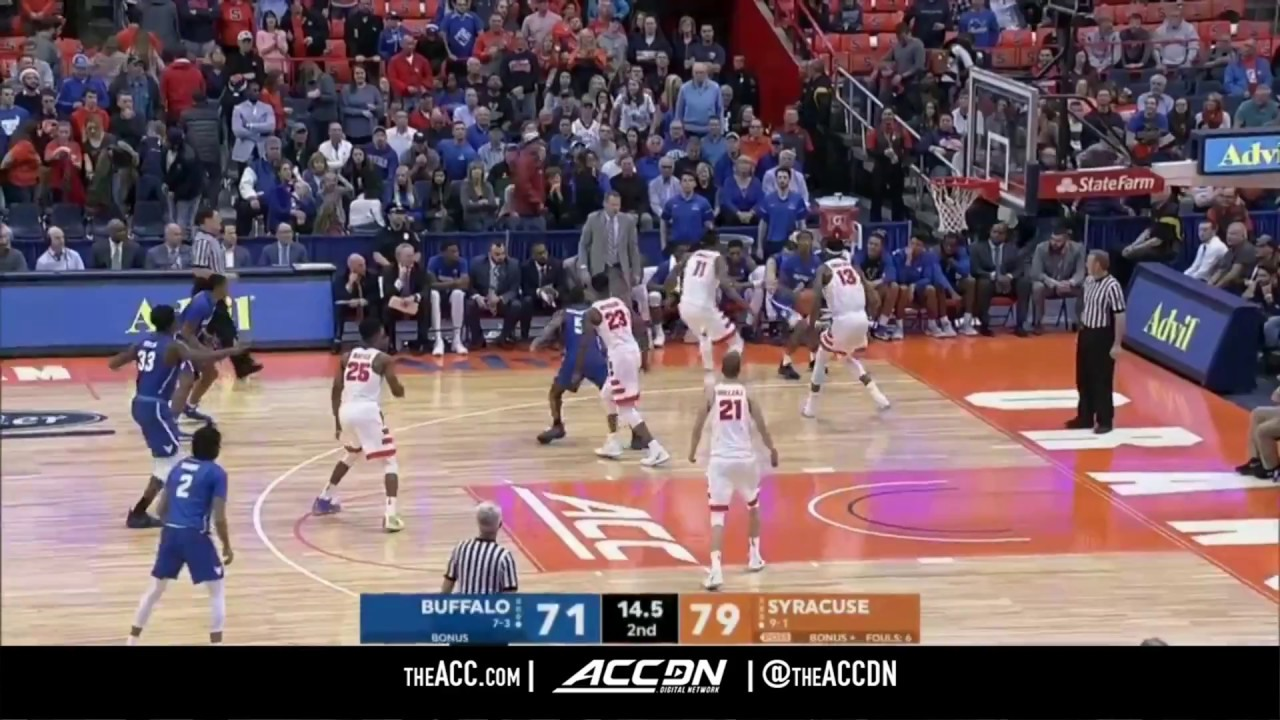Buffalo Vs Syracuse College Basketball Condensed Game 2017 Youtube