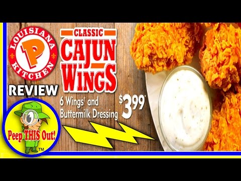 Popeyes® | Classic Cajun Wings Review! Peep THIS Out! ⚜ 🐔