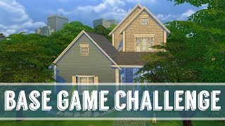 The Sims 4 - Base Game Challenge(I decided to try tackle the Base Game building challenge on the Sims 4! Its actually a lot more difficult than i thought it would be! My Store!, 2017-02-25T21:00:01.000Z)