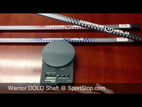 2013 Warrior Dolo Lacrosse Shaft - overview by SportStop.com thumbnail