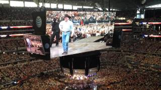 George Strait - Introduction to Final Show