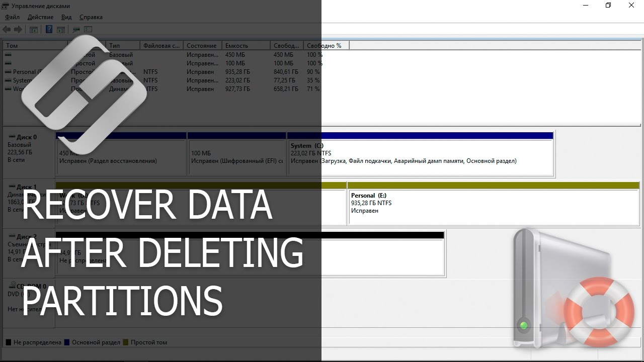 How to Restore The Structure of Deleted EFI Partitions in Windows