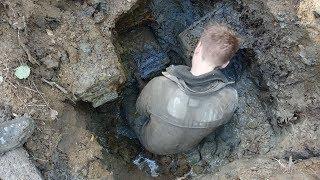 🔴 Раскопки немецкого блиндажа, поиск с металлоискателем thumbnail