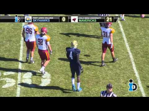Fort Lewis College Football VS Colorado Mesa University 10-19-13