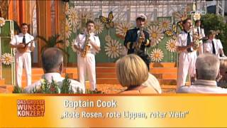 Captain Cook Rote Rosen,rote Lippen,roter Wein