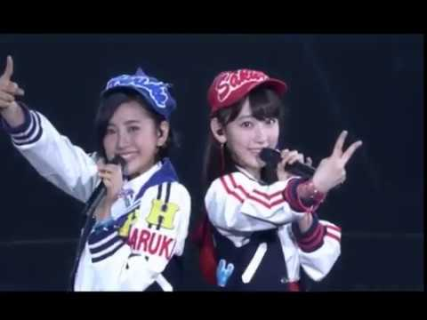 HKT48 - Namaiki Lips (Kodama Haruka, Miyawaki Sakura)