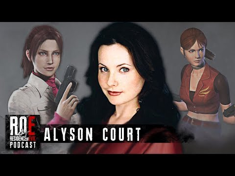 ROEpodcast #4 w/ Alyson Court (Claire Redfield) | Resident Evil Podcast|