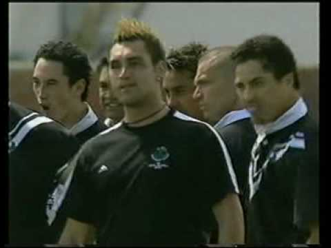Cook Islands v NZ Maori Haka