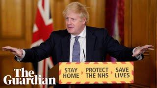 Coronavirus: Boris Johnson holds briefing on easing of UK lockdown – watch in full