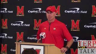 Maryland Terps Football - DJ Durkin Presser after UCF game