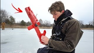 Crazy Fishing Invention CATCHES Fish For You!