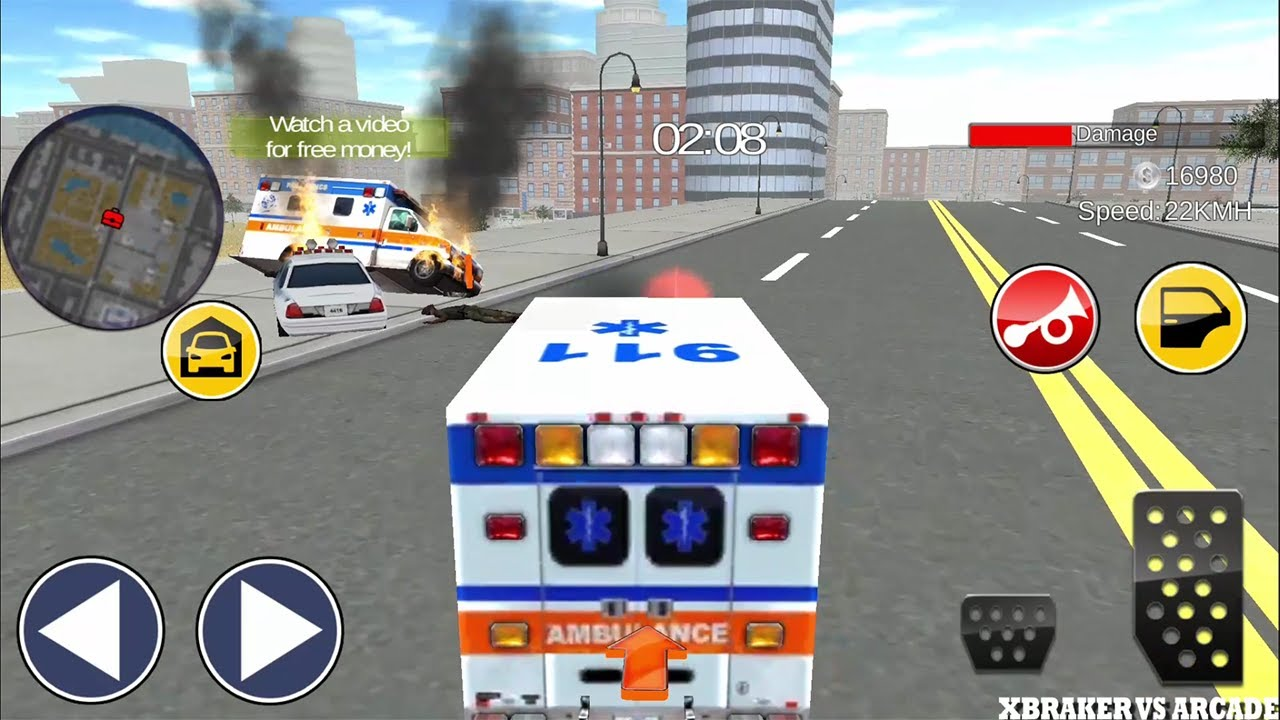 Ambulance Driver Chicago City Android Gameplay 2017
