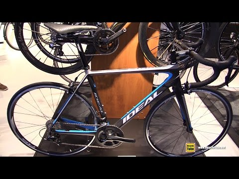 2016 Ideal Stage Team 105 Road Bike - Walkaround - 2015 Eurobike